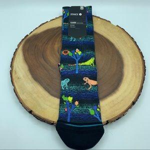 Stance Desert Dinos Mens socks Sz 6-8.5